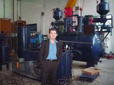 Client in Installed Acetylene Plant in Factory