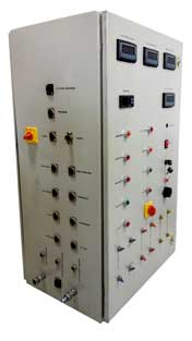 acetylene control panel Side View