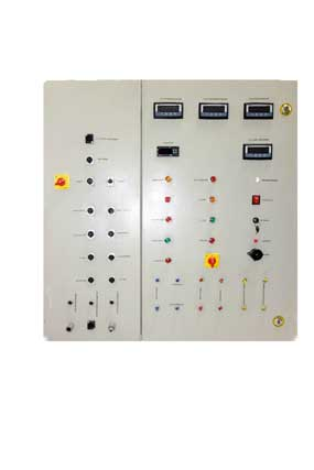 acetylene control panel Fron View